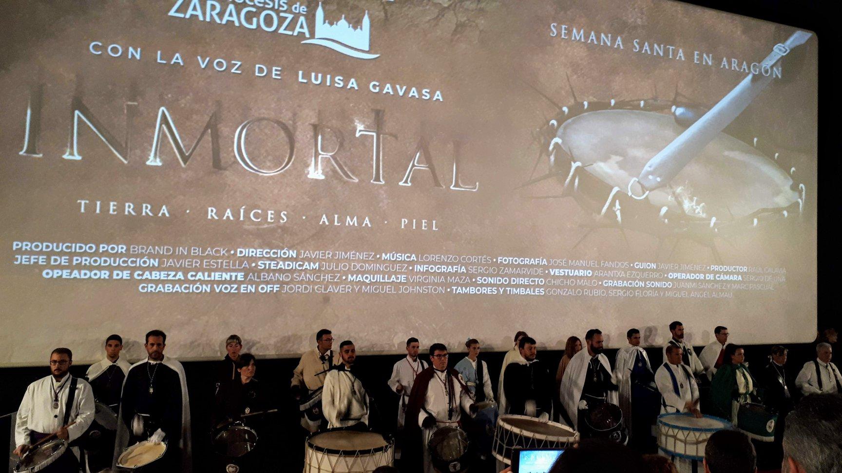 Estreno de Inmortal en los cines Palafox